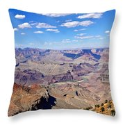 Colorado River Gorge Throw Pillow