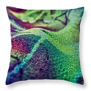 Colored Throw Pillow