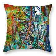 Colors Of Happiness Throw Pillow