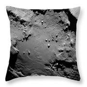 Comet Churyumov-gerasimenko Throw Pillow