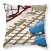 Computerized Medicine  Throw Pillow