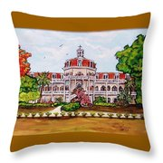 Convent Of Mary Immaculate Throw Pillow