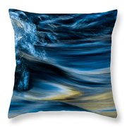 Cool Splash Throw Pillow