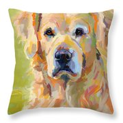 Cooper Throw Pillow by Kimberly Santini