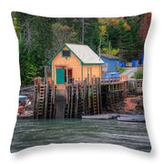 Corea Maine  Throw Pillow by Emmanuel Panagiotakis