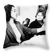 Coretta Scott King (1927-2006) Throw Pillow