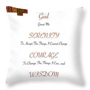 1 Corinthians 13 13 Find Serenity With Faith Hope And Love Throw Pillow