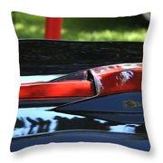 Corvette Torch Throw Pillow