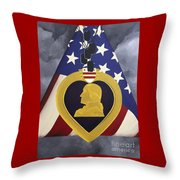 Cost Of Freedom Throw Pillow