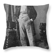 Count Walewski (1810-1868) Throw Pillow