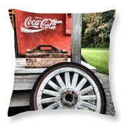 Country Living 2 Throw Pillow