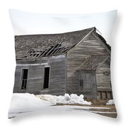 Country School Throw Pillow