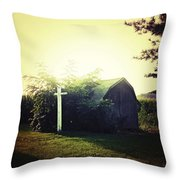 Country Warmth Throw Pillow