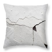 Cracked Stucco Throw Pillow