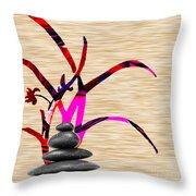 Creating Balance Throw Pillow
