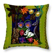 Creatures Of The Realm Throw Pillow