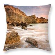 Southern Crete. Throw Pillow
