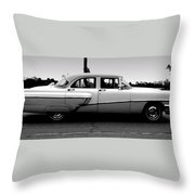 Cruising Down The Road  Throw Pillow