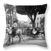 Cuba Havana, C1904 Throw Pillow