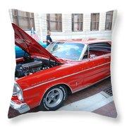 Custom Ford Throw Pillow