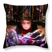Cyberpunk - Mad Skills Throw Pillow