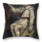 Daniel Morgan (1736-1802) Throw Pillow