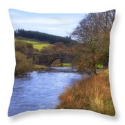 Dartmoor - Two Bridges Throw Pillow