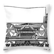 Daugherty Typewriter, 1895 Throw Pillow