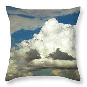 Daunting Sky Throw Pillow