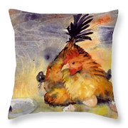 Day Old Chicks Throw Pillow