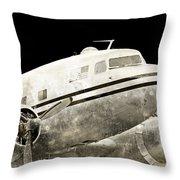 dc3 Throw Pillow