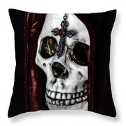 Dead Knight Throw Pillow