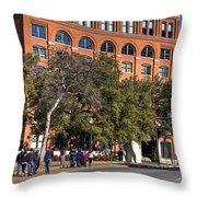 Dealey Plaza Throw Pillow