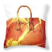 Debbie And Magnus Purse Painting Throw Pillow