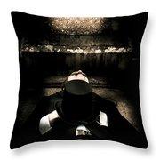 Deceased Man In Repose Throw Pillow