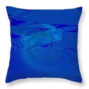 Deep Sea Throw Pillow by Thomas Bryant