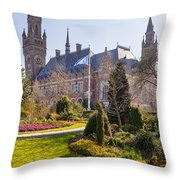 Den Haag Throw Pillow
