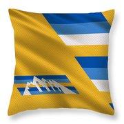 Denver Nuggets Uniform Throw Pillow
