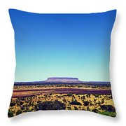 Desert Monolith Throw Pillow