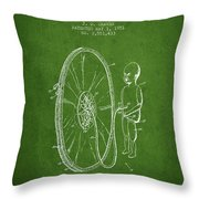 Device For Teaching Obstetrics And Midwifery Patent From 1951 -  Throw Pillow