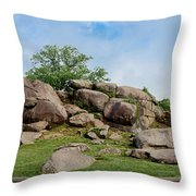 Devil's Den Pan Throw Pillow