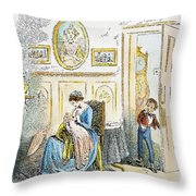 Dickens: David Copperfield Throw Pillow