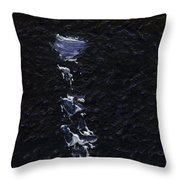 Dingle Quay By Night Detail 3 On The Wild Atlantic Way Of Western Ireland Throw Pillow