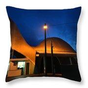 Dino Night Throw Pillow