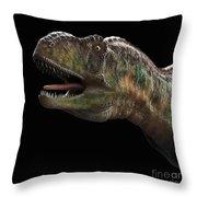 Dinosaur Aucasaurus Throw Pillow