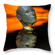 Discovering The Secrets Of The Mind Throw Pillow