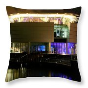 Discovery World Milwaukee Wisconsin Throw Pillow