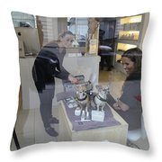 Dog And True Friendship 8 Throw Pillow