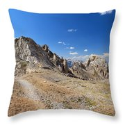 Dolomites - Costabella Ridge Throw Pillow