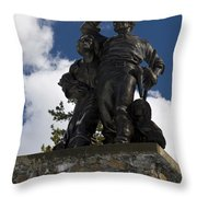 Donner Party Monument  Throw Pillow